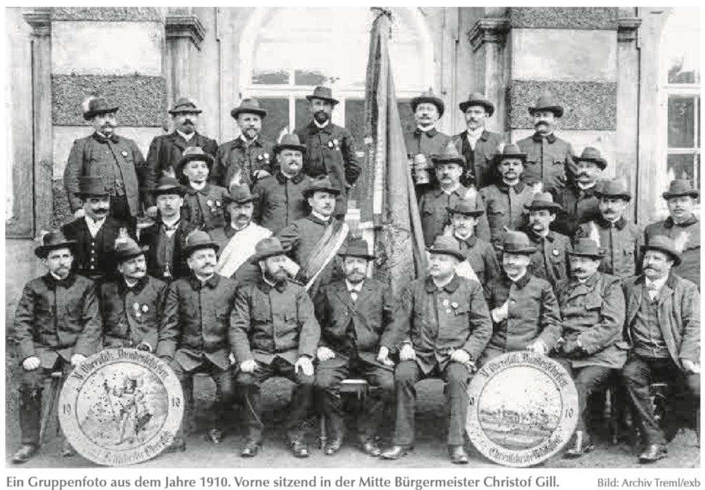 Gruppenfoto von 1910